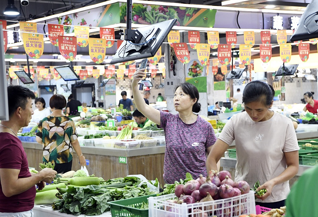 China Shouguang vegetable price index down 1.05 pct