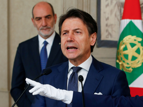 Italy's Conte confident of finalizing talks over new govt