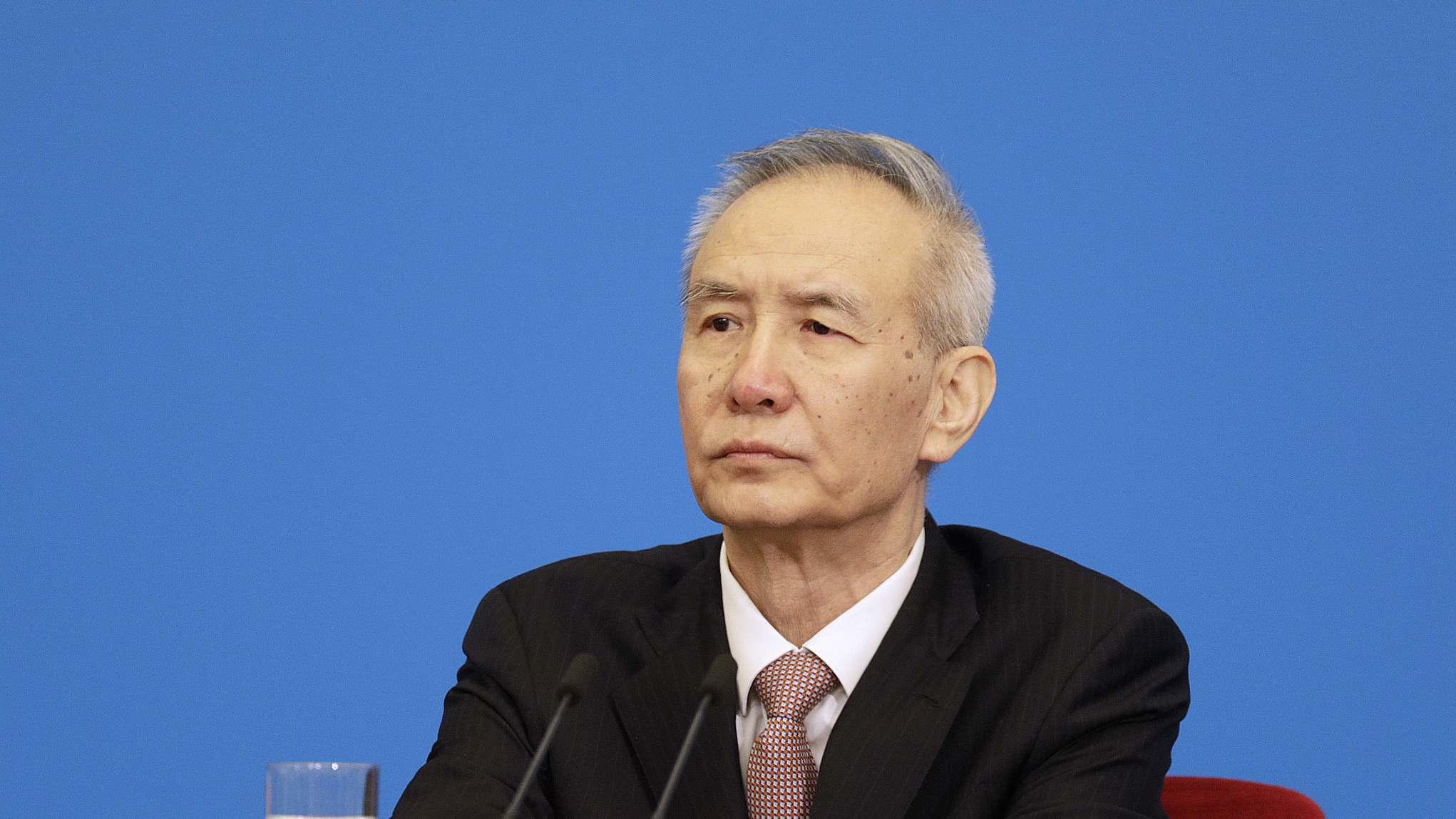 Chinese vice premier meets U.S. senators