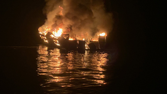 25 bodies recovered after boat fire in California