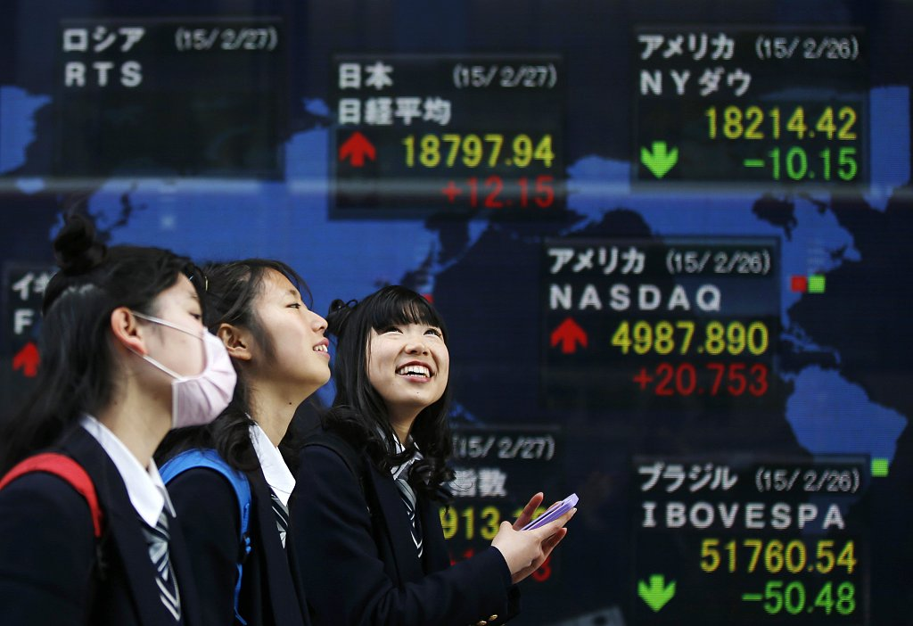 Tokyo stocks open flat as investors lack fresh cues