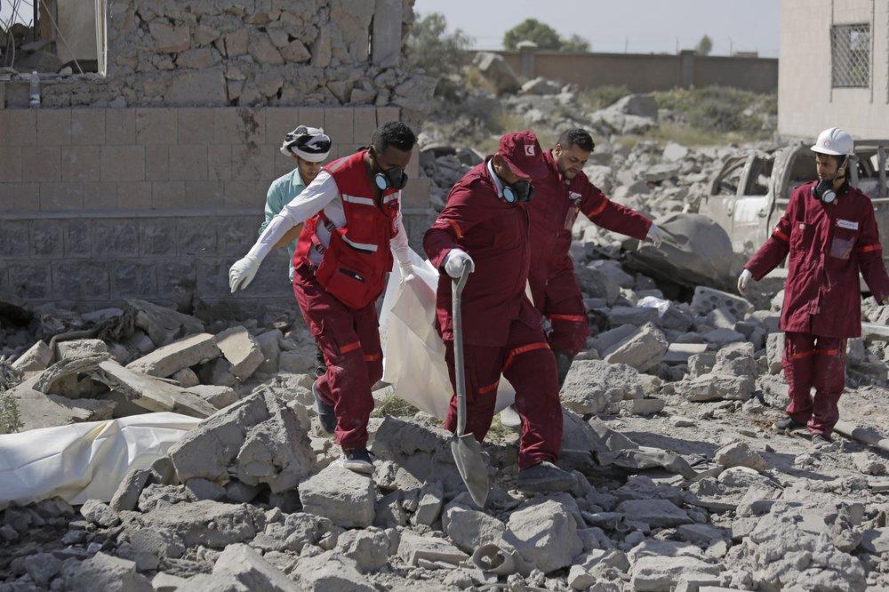 Saudi-led airstrikes on Yemen rebel-run prison kill over 100