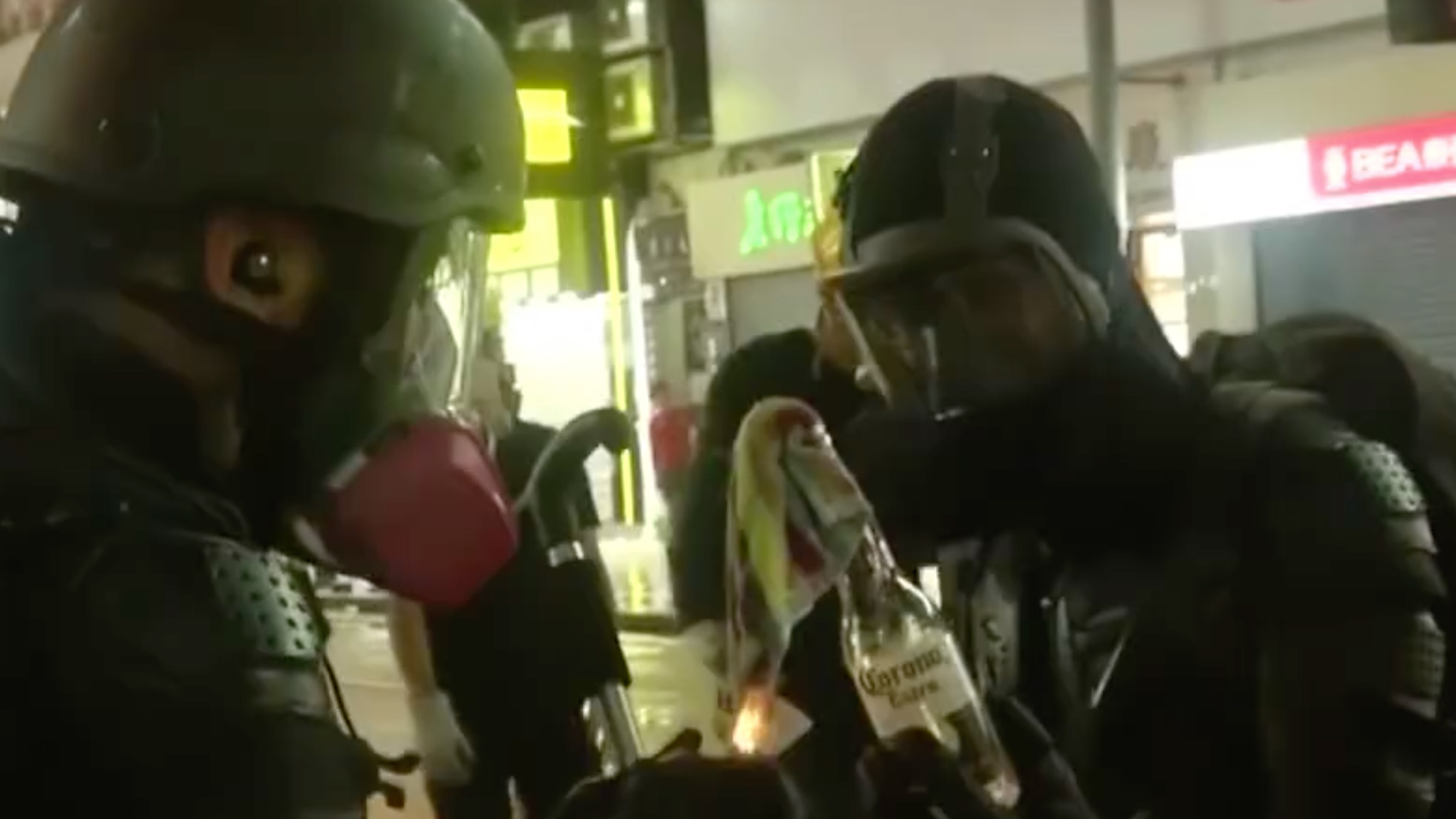 HK police seize homemade weapons from radical protesters
