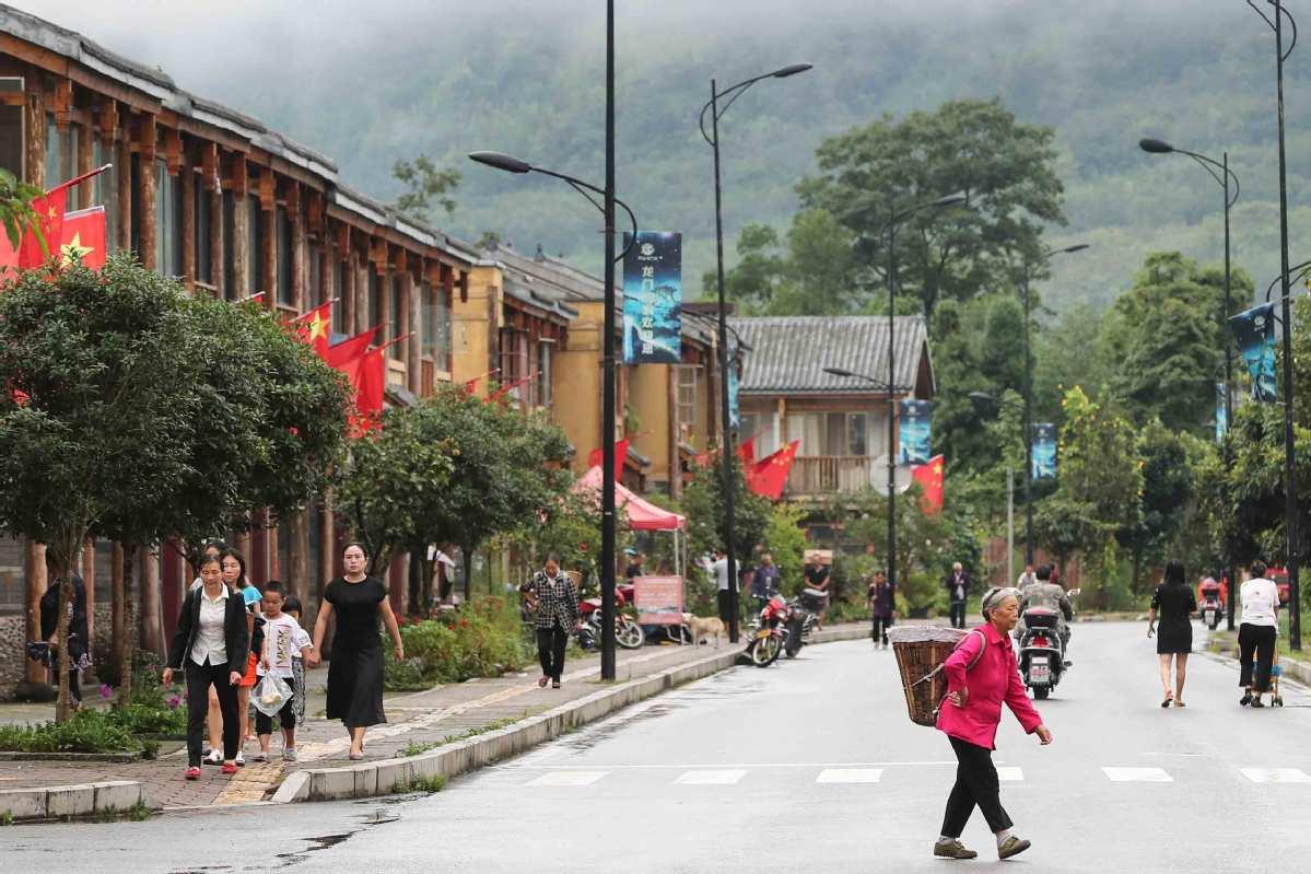 Lushan revitalized in wake of quake