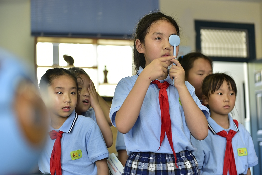 China steps up efforts to protect children's eyesight