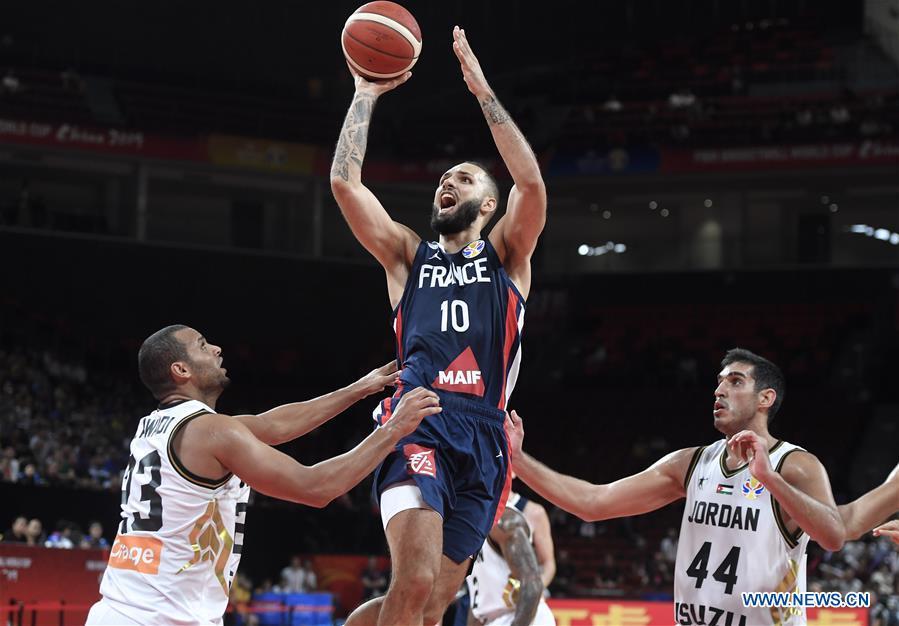 FIBA World Cup group G match: France vs. Jordan
