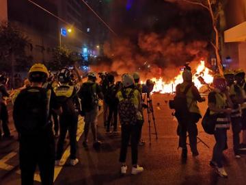 1,183 arrested over violence in Hong Kong since June: police