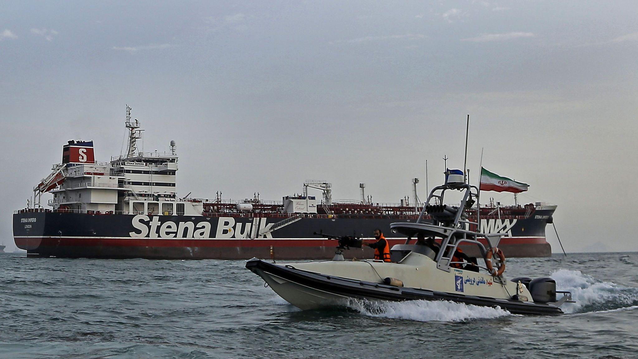 Iran frees 7 crew of detained British oil tanker