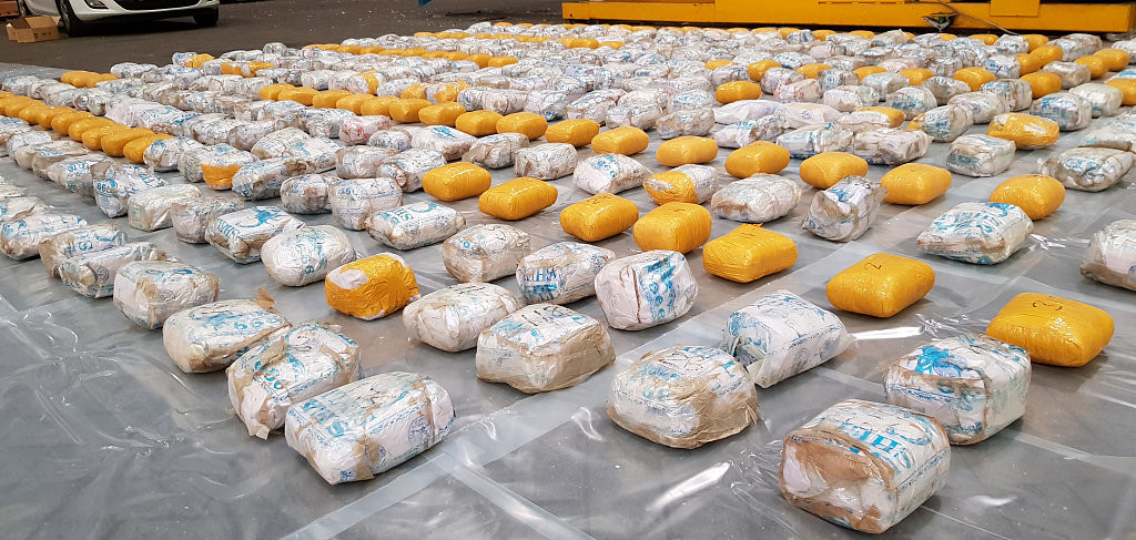 Bolivia seizes 220 tons of drugs in 8 months