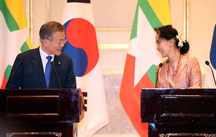 Myanmar, S. Korea sign package of agreements