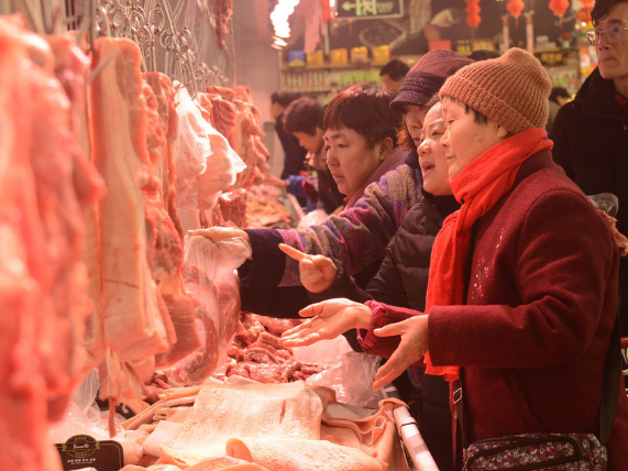 China's weekly farm produce prices continue rising