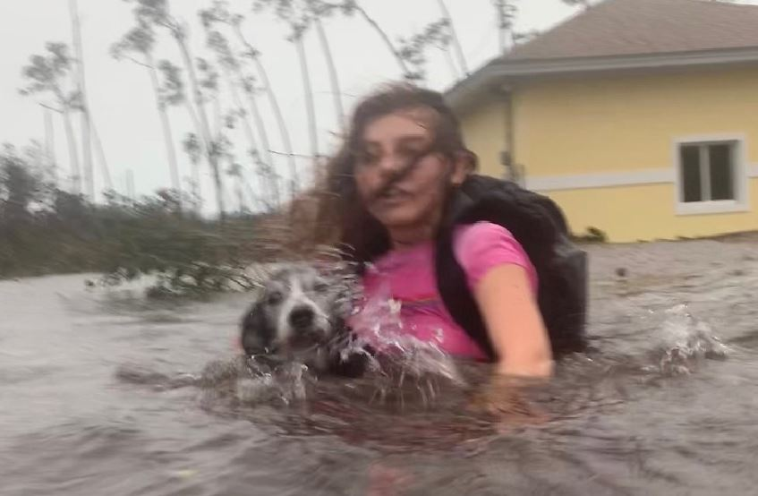 'Catastrophic': Hurricane Dorian parks over the Bahamas