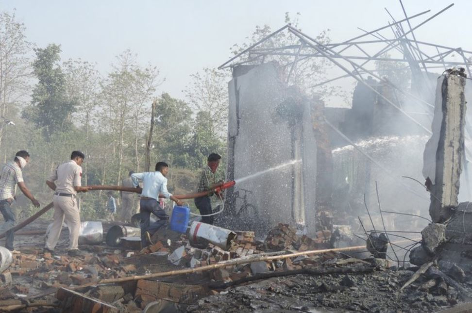 Death toll from firecrackers factory blast rises to 22 in India