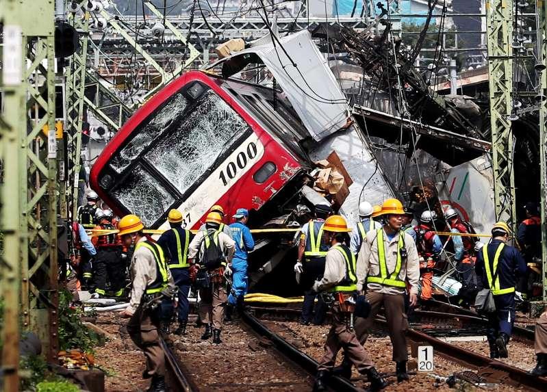 Dozens injured as truck collides with passenger train in Japan's Yokohama