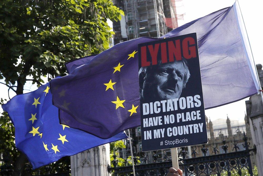British MPs approve bill to prevent no-deal Brexit