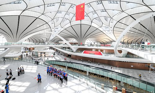 New mega airport on brink of opening in Beijing, will use cutting-edge technologies