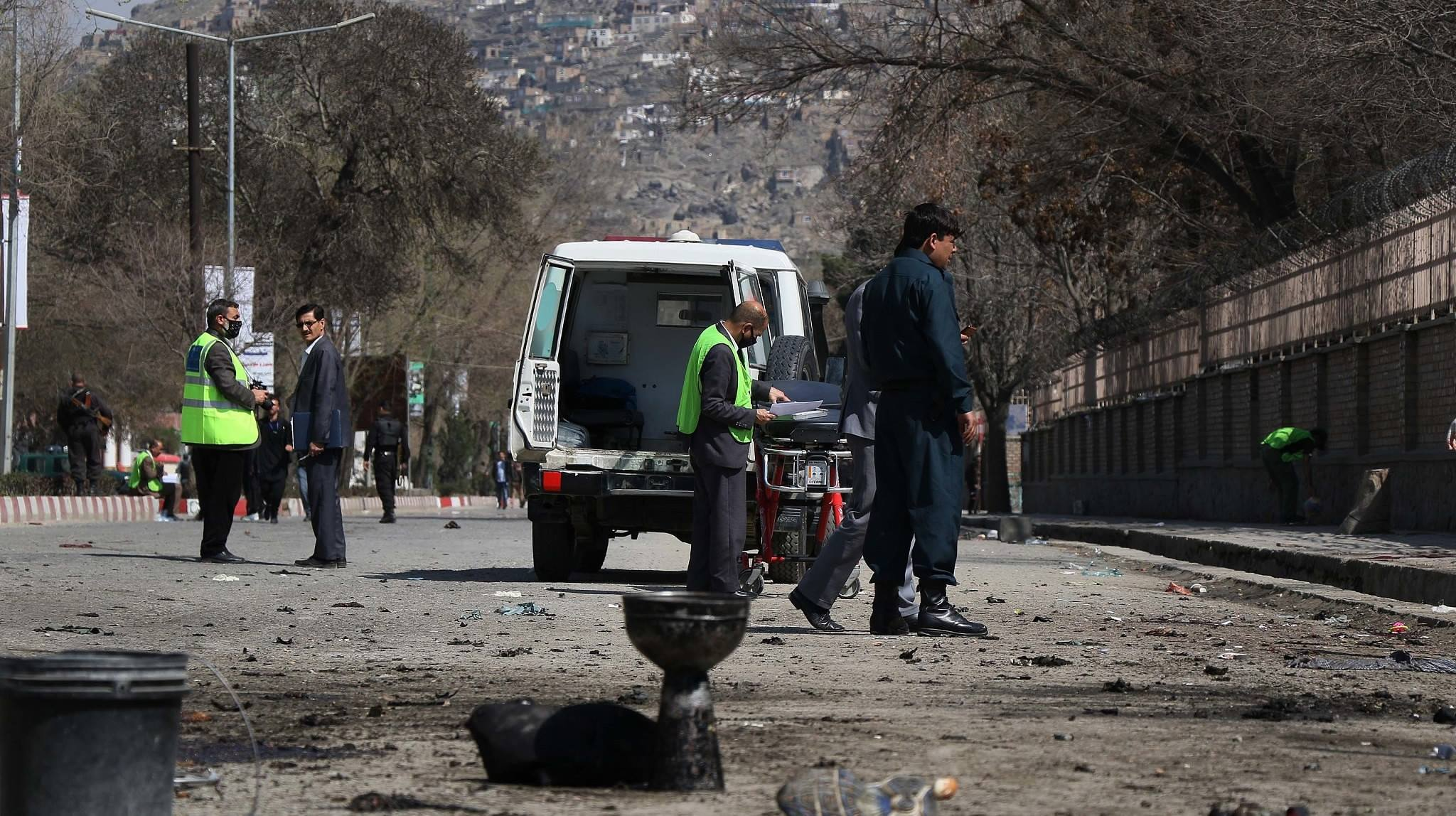 Over a dozen killed, injured as car bomb rocks Kabul