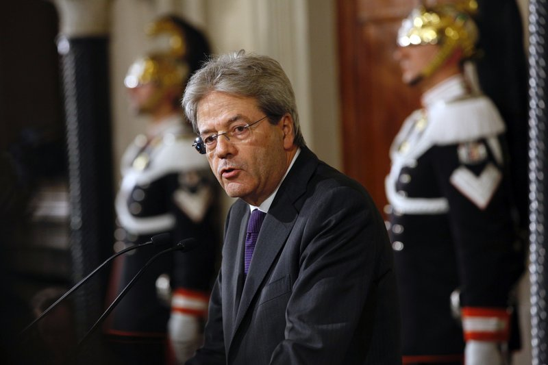 Italy proposes Gentiloni as new European Commissioner