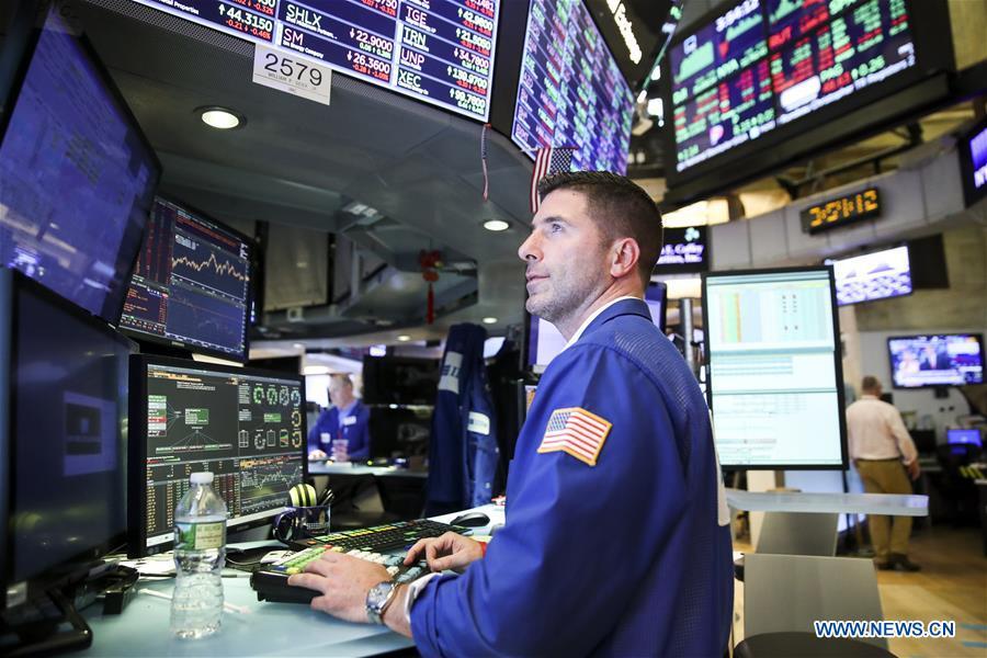 US Stocks higher-xinhua.jpg