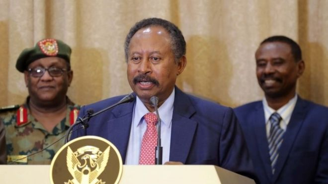 Sudan's PM announces formation of transitional cabinet