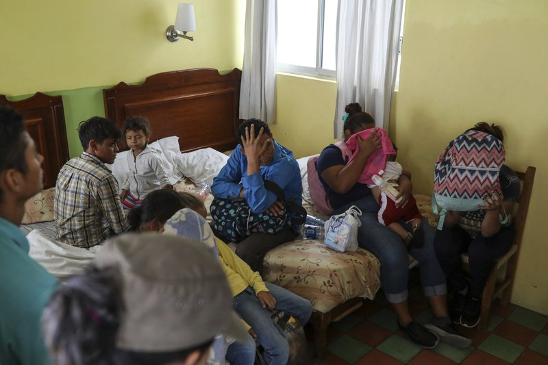Mexico says migration to US down 56 percent since May