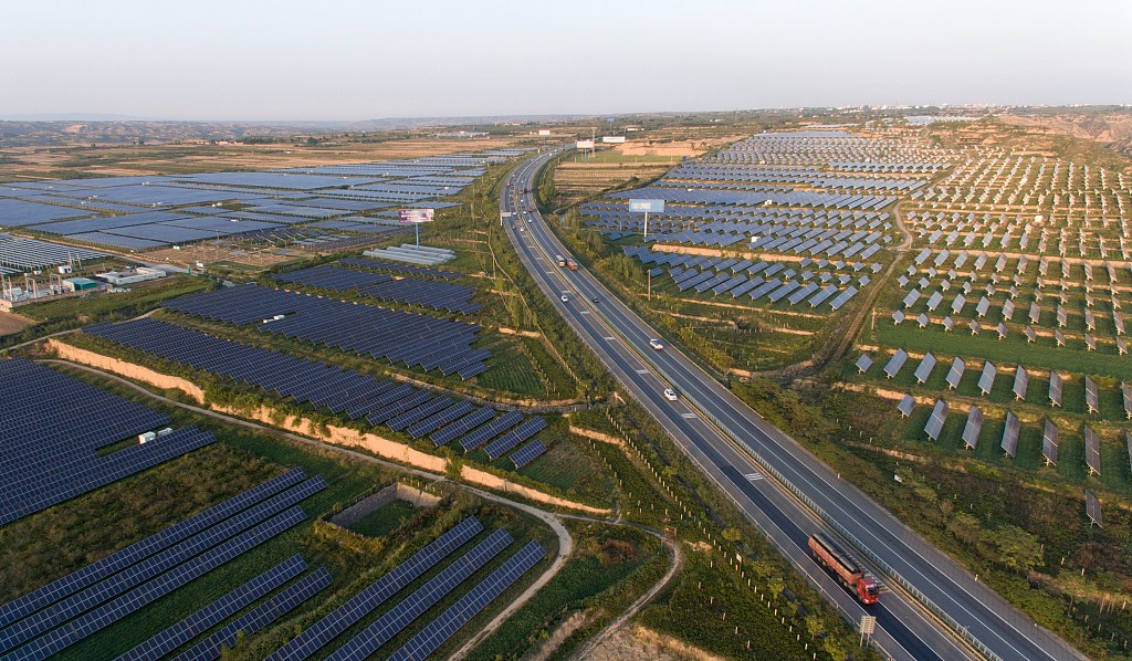 China integrates solar power industry with agriculture in targeted poverty alleviation