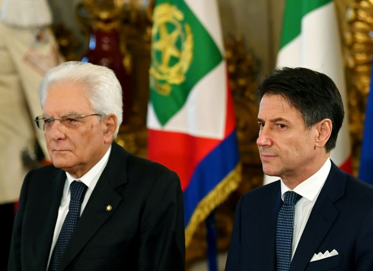 Italy swears in new cabinet eyeing fresh start for EU ties