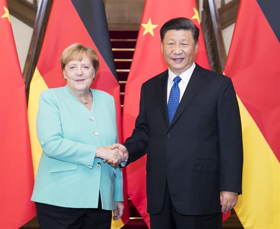 Merkel's China visit brings optimism to business cooperation