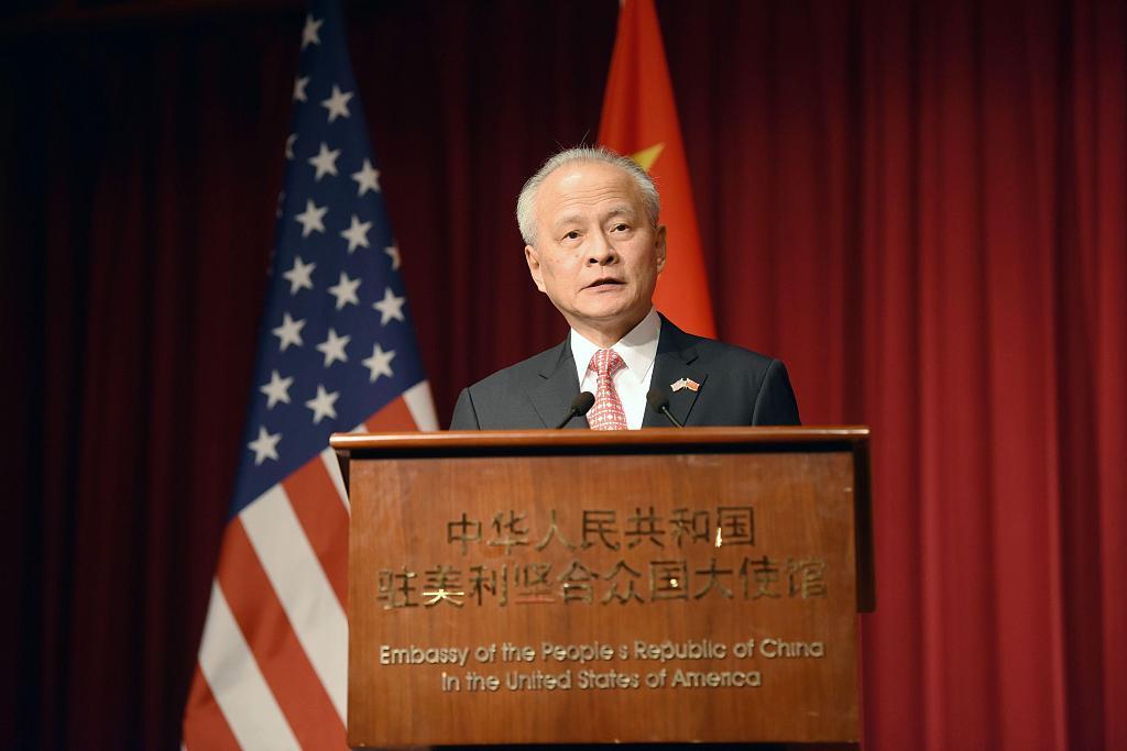 Reunion a shared aspiration of Chinese people: ambassador