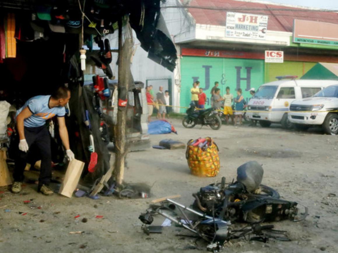 Seven injured in southern Philippine blast