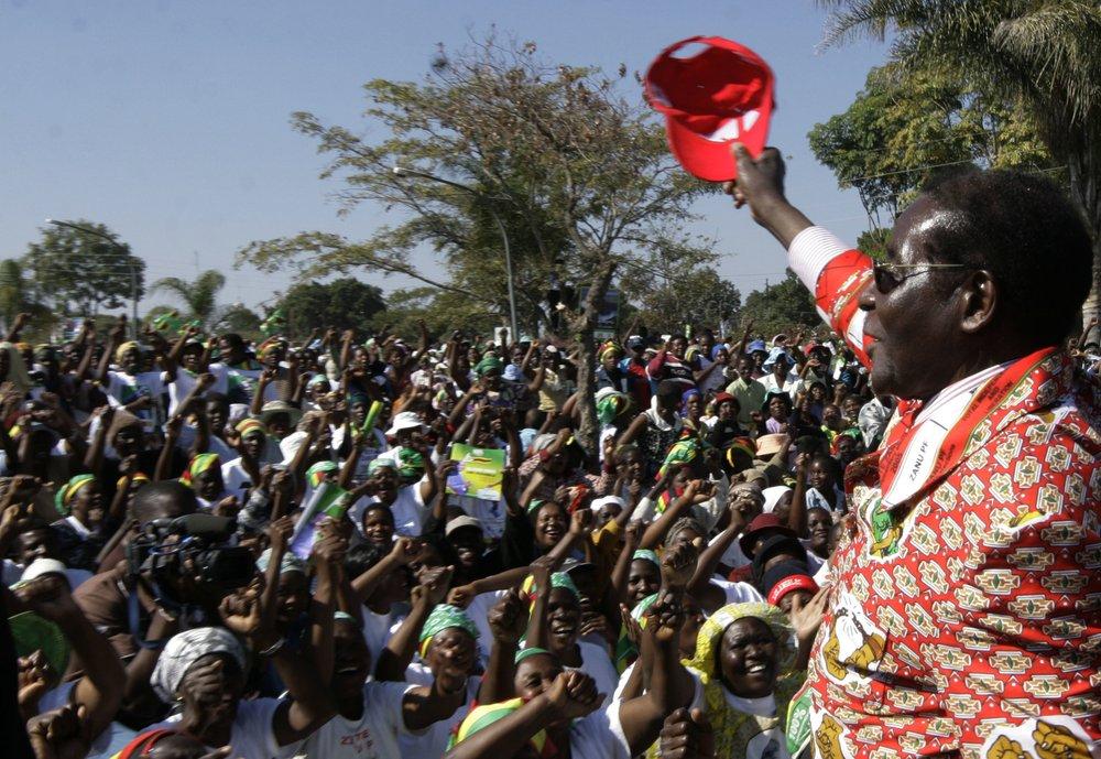 Former Zimbabwe president Mugabe declared national hero