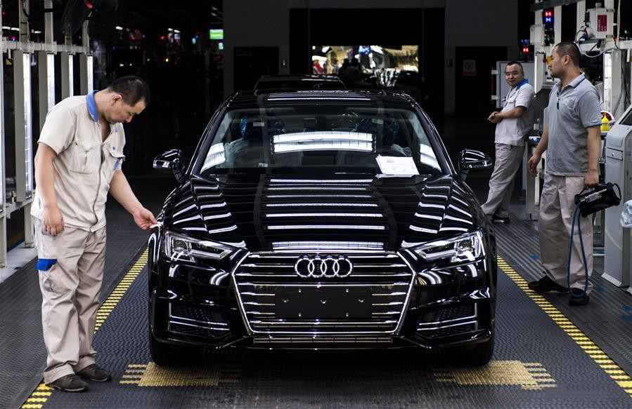 Audi reports historic high sales in China