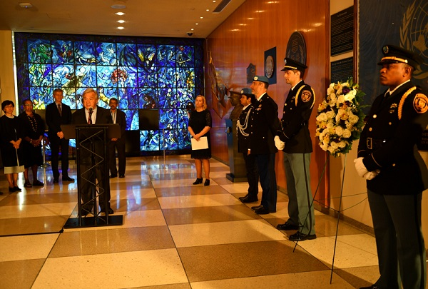 United Nations celebrates 66th Staff Day