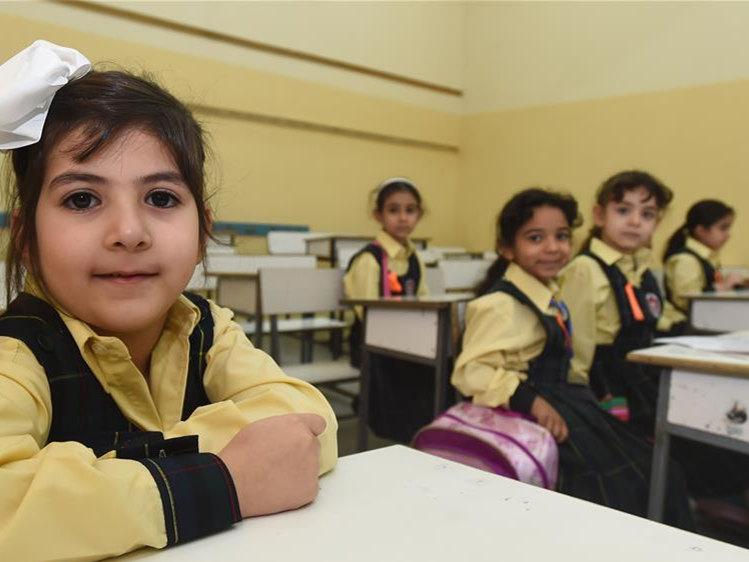 Kuwaiti students return to school in Hawalli Governorate