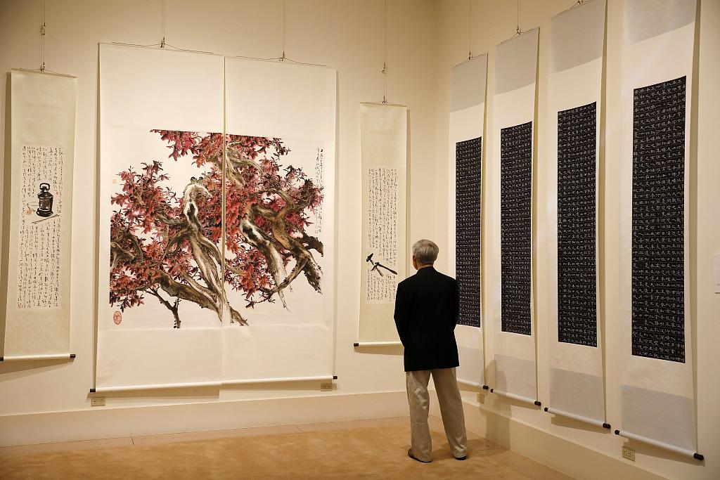Art exhibition held in San Francisco to celebrate 40th anniversary of China-U.S. diplomatic ties