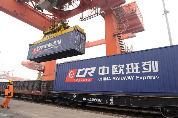New China-Europe freight train route launched in SW China