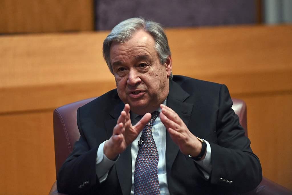 UN chief welcomes prisoner exchange between Russia, Ukraine