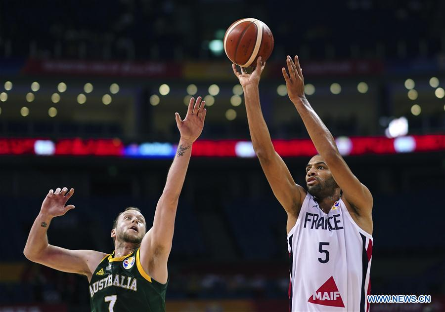 2019 FIBA World Cup: group L match between France, Australia