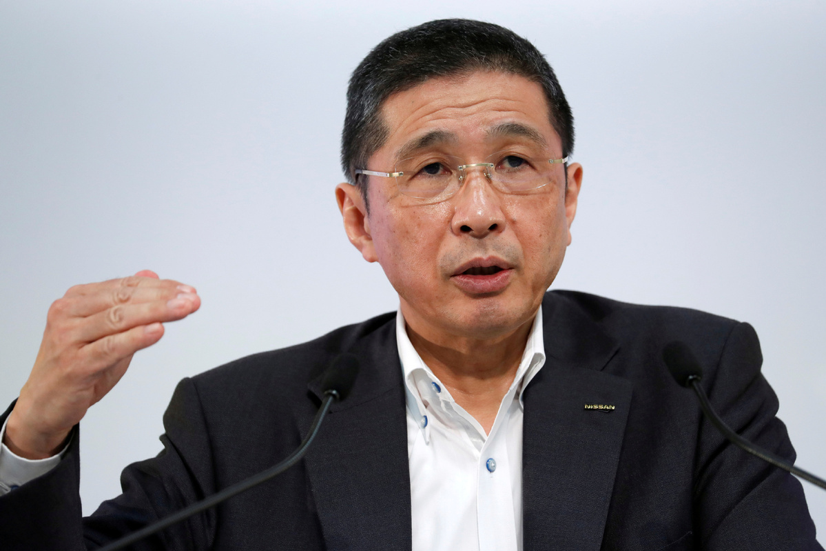 Nissan CEO to step down after admitting massively overpaid by stock scheme