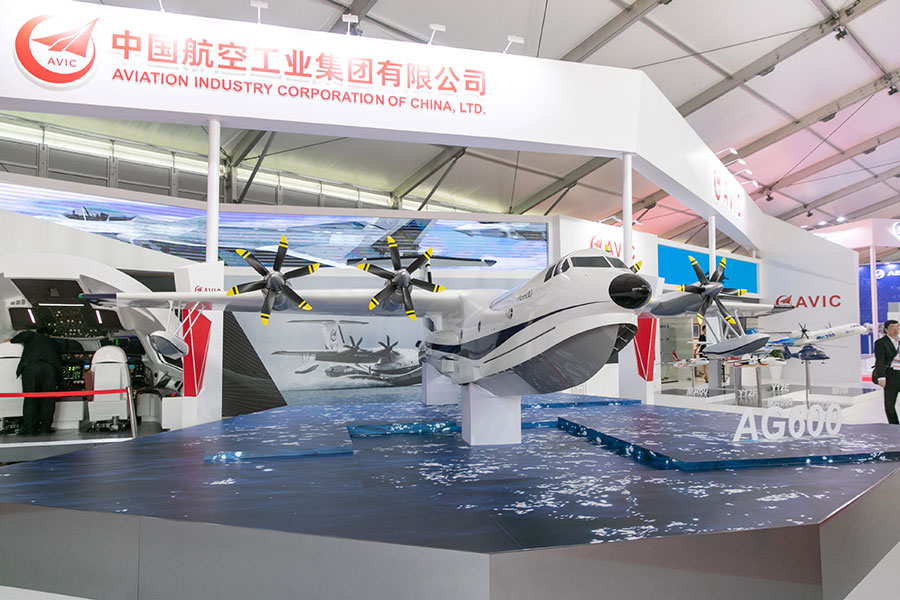China's aerospace capabilities on display at Russia air show