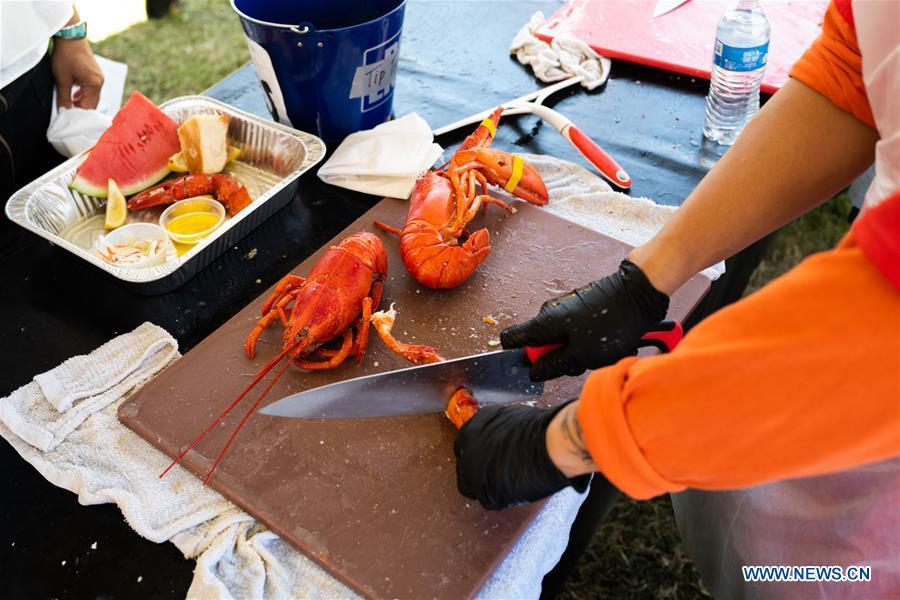 2019 Long Beach Original Lobster Festival held in LA, U.S.