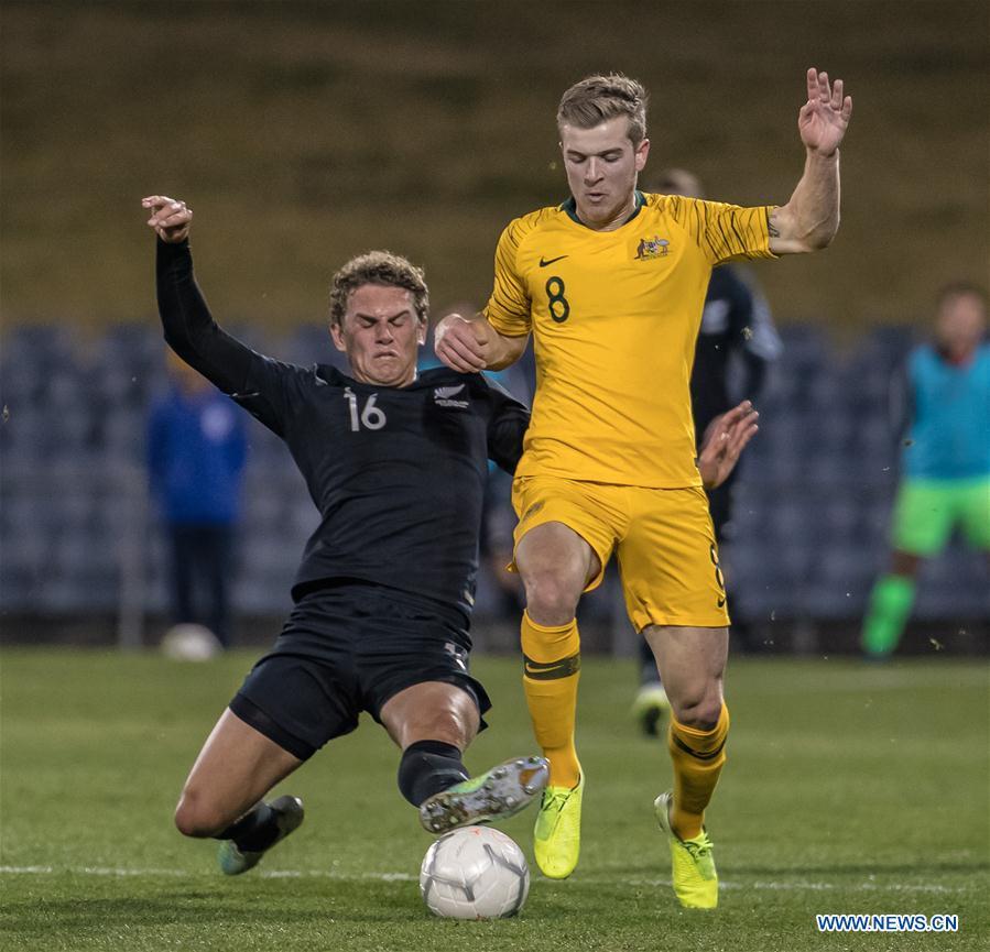 U23 Int'l Friendly match: Australia vs. New Zealand