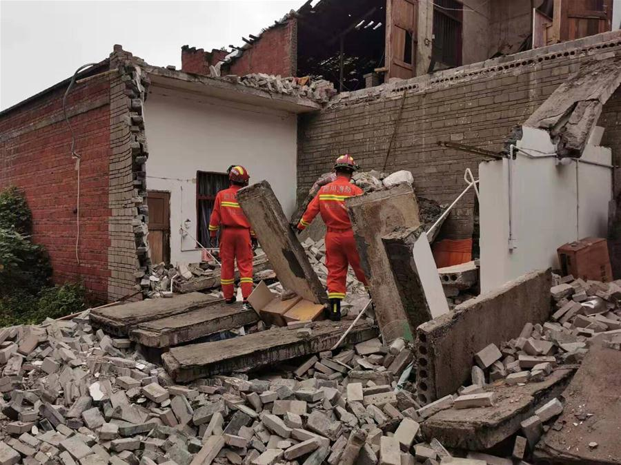Power supply back on in quake-hit area in Sichuan