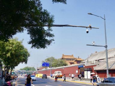 Beijing introduces intelligent lamp posts