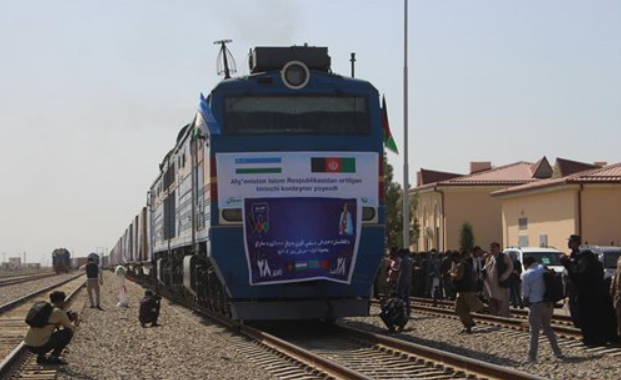 First cargo train from Afghanistan to China via Uzbekistan, Kazakhstan departs