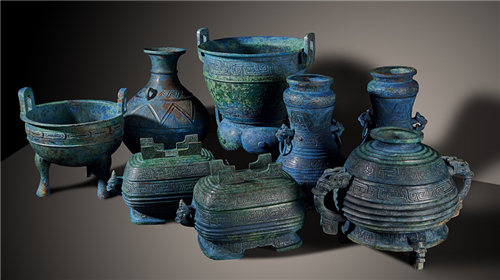 Thousand-year-old bronze relics brought home from Japan