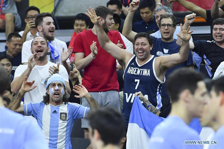 FIBA World Cup: Argentina vs. Serbia