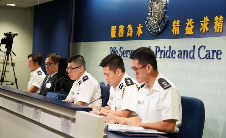 Hong Kong police condemn rumors about 'death' in incident on Aug. 31