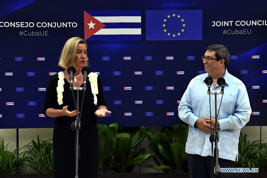 Cuba, EU hold second Joint Council meeting in Havana