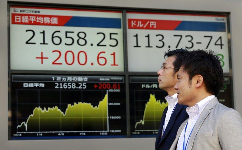Tokyo stocks open higher as yen's retreat against U.S. dollar lifts exporters
